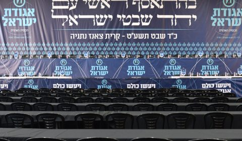 """הכנסיה הגדולה אגודת ישראל תשע""""ט"""